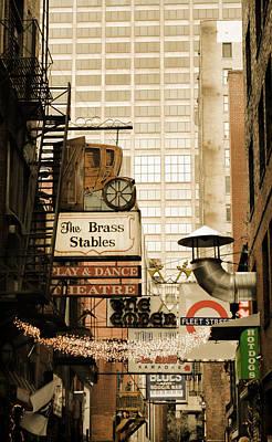 Photograph - Printer's Alley by Pamela Parton
