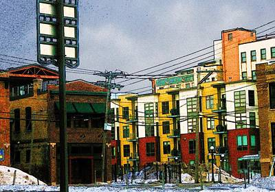 Lowertown Photograph - Printer's Row by Rashelle Brown