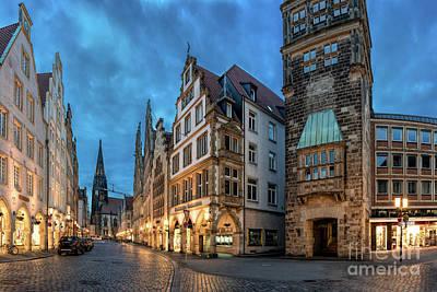 Photograph - Prinzipalmarkt Munster by Daniel Heine