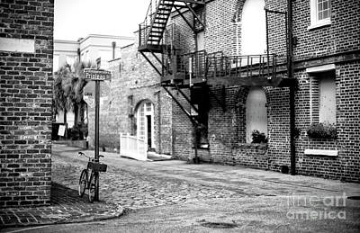Photograph - Prioleau Street Charleston by John Rizzuto