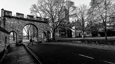 Photograph - Priory Arch Lincoln by Jacek Wojnarowski