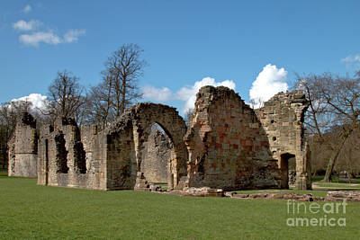 Photograph - Priory Ruins by Baggieoldboy