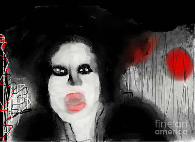 Priscilla  Queen Of The Night Art Print by Rc Rcd