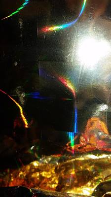 Photograph - Prism Aftereffects by Florene Welebny