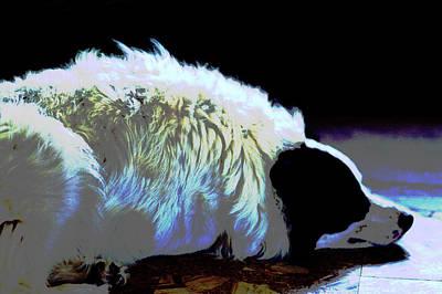 Digital Art - Prismatic Boo by Aliceann Carlton