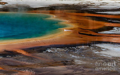 Photograph - Prismatic Spring by DS Dodd