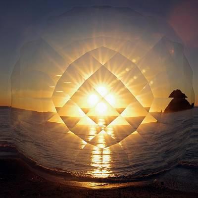 Photograph - Prismatic Vision Italian Sunrise #2 by Benoit Beal