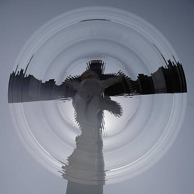 Photograph - Prismatic Vision The Christ by Benoit Beal