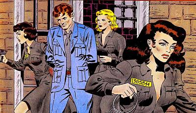 Prison Break 2 Art Print by Otis Porritt