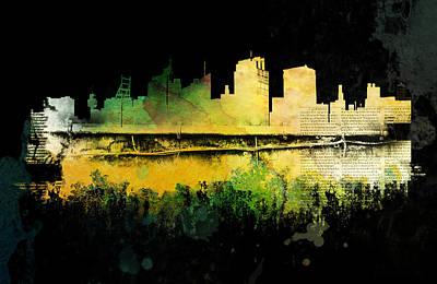 Digital Art - Prison City by Christina VanGinkel