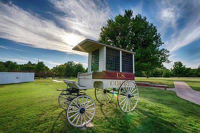 Photograph - Prison Wagon by James Barber