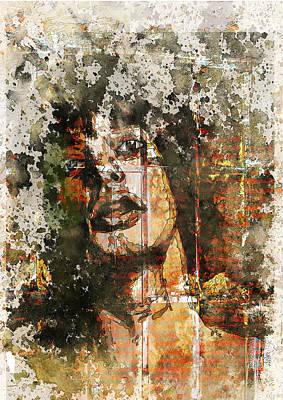 Digital Art - Prisoner by Haruo Obana
