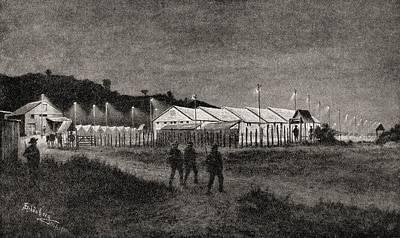 Prisoner Of War Camp At Pretoria, South Art Print by Vintage Design Pics