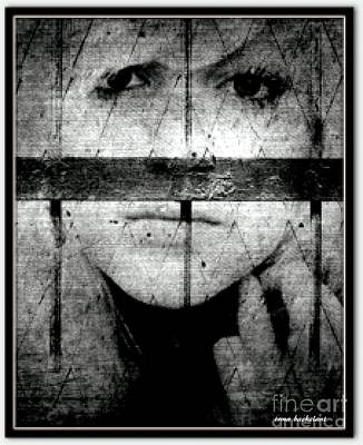 Photograph - Prisoner Of Your Mind by Irma BACKELANT GALLERIES
