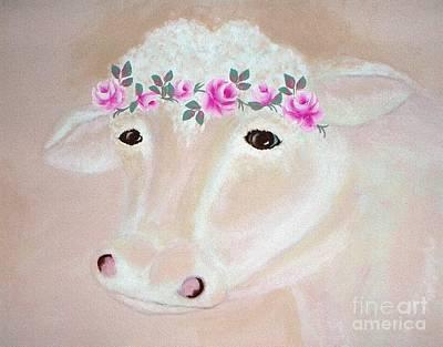Digital Art - Prissy Cow Sands by Ej Catoe