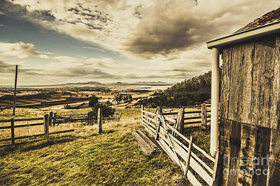 Photograph - Pristine Hinterland Lookout  by Jorgo Photography - Wall Art Gallery