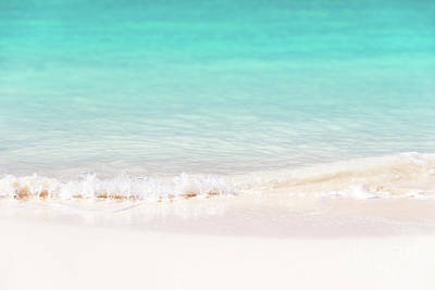 White Sands Wall Art - Photograph - Pristine Water And White Sand by Delphimages Photo Creations