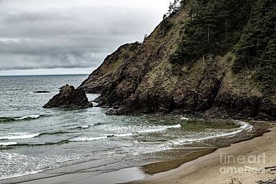 Photograph - Private Beach by Jon Burch Photography