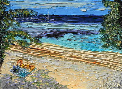 Painting - Private Cove by Chrys Wilson
