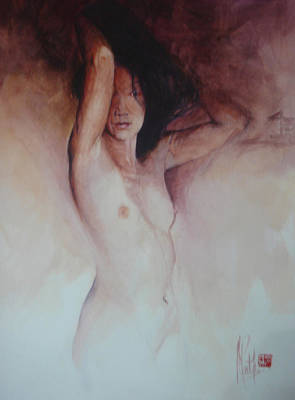 Painting - Private Dancer by Alan Kirkland-Roath