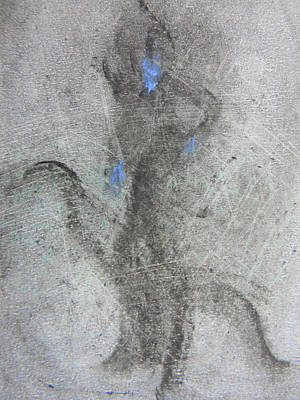 Drawing - Private Dancer Two by Marwan George Khoury