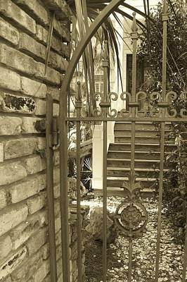 Photograph - Private Entry by Sheri McLeroy