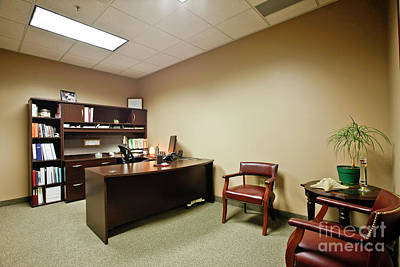 Photograph - Private Office by Richard Lynch