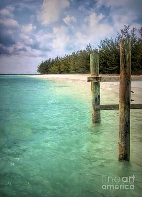 Photograph - Private Out Island In The Bahamas by Polly Peacock