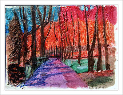 Private Road Art Print