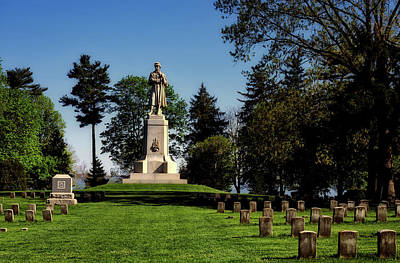 Photograph - Private Soldier Monument - Antietam by Mountain Dreams