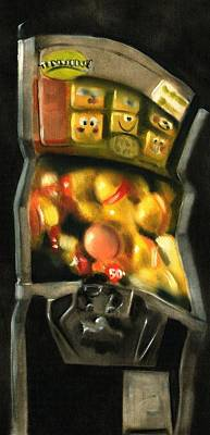 Painting - Prize Machine Art Print by Tommervik