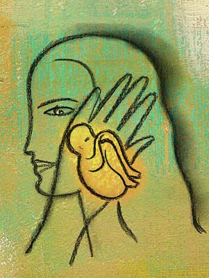 Burden Painting - Pro Abortion Or Pro Choice? by Leon Zernitsky