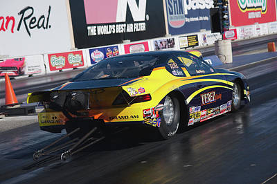 Photograph - Pro Mod Launch by Richard J Cassato