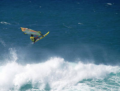 Photograph - Pro Sailboarder Maui by Waterdancer