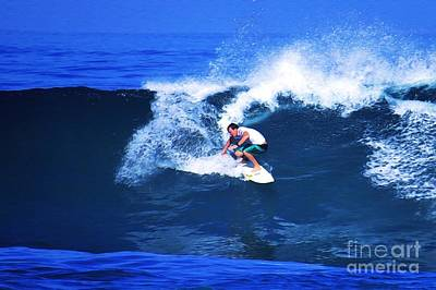 Triple Crown Of Surfing Photograph - Pro Surfer Gabe King - 3 by Scott Cameron
