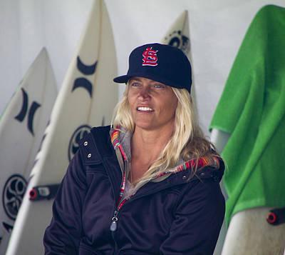 Photograph - Pro Surfer Lisa Andersen by Waterdancer