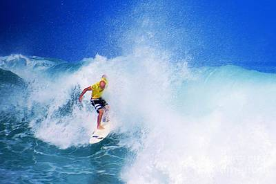 Hawaiian Photograph - Pro Surfer-nathan Hedge-5 by Scott Cameron