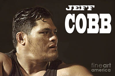 Tattoo Photograph - Pro Wrestler Mr. Athletic Jeff Cobb by Jim Fitzpatrick