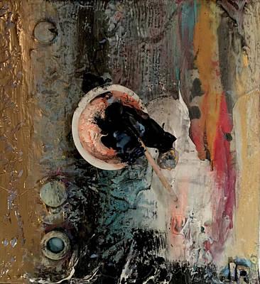 Joan Raspo Wall Art - Painting - Process 02 by Joan Raspo