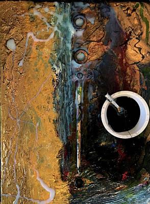 Joan Raspo Wall Art - Painting - Process 03 by Joan Raspo