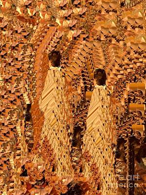 Digital Art -  Processional by Nancy Kane Chapman