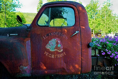 Photograph - Produce Truck by David Arment