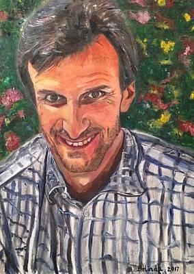 Painting - Prof Pierre Duffie by Belinda Low