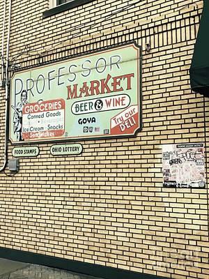 Photograph - Professor Market by Michael Krek