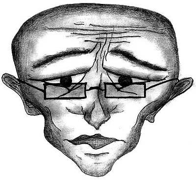 Drawing - Professor Strange by Matt Harang