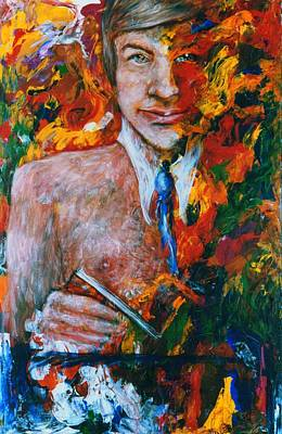 Acryllic Painting - Professor by Valera Ainsworth