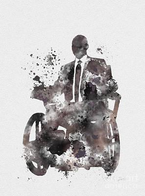 Professor X Print by Rebecca Jenkins