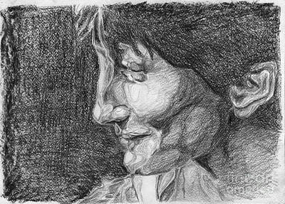 Profile. 8 April, 2013 Art Print