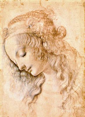 Photograph - Profile Portrait 1470 by Padre Art
