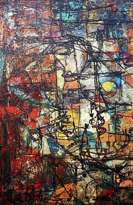 Painting - Profile by Ronex Ahimbisibwe